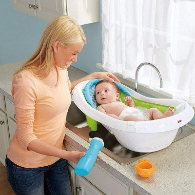 fisher-price 4-in-1 sling 'n seat tub-1