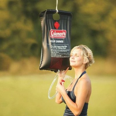 5-gallon solar shower