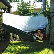 camping hammock with bug screen mossy netting canopy
