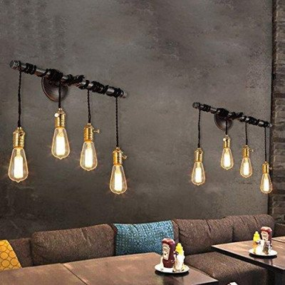 4 hanging bulb light