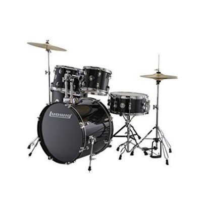 ludwig accent drive 5-piece drum kit-1