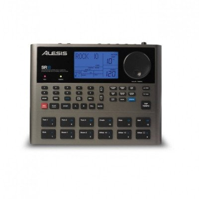 alesis sr18 portable drum machine with effects