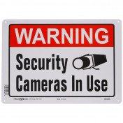 Warning Security Camera In Use sign