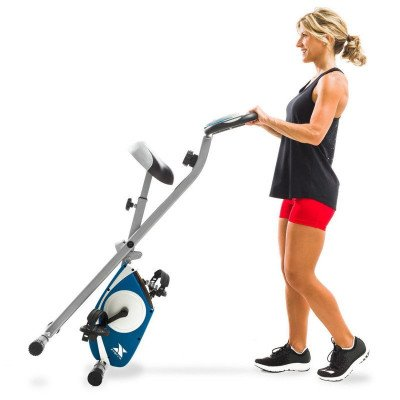 upright exercise bike-2