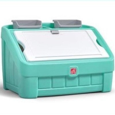 step 2 toy box and art lid-2