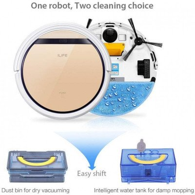 robotic vacuum with water tank-1
