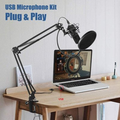 podcast condenser microphone-1