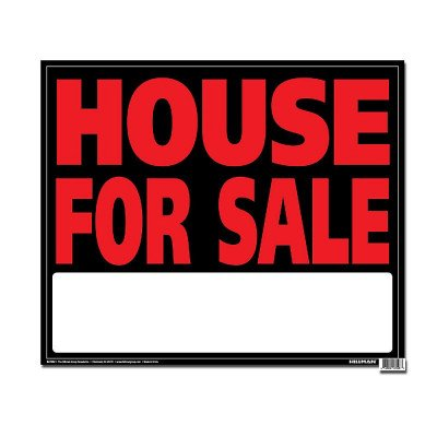 jumbo sign - house for sale