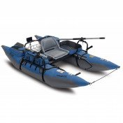 inflatable fishing pontoon boat