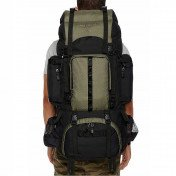hiking backpack with rainfly