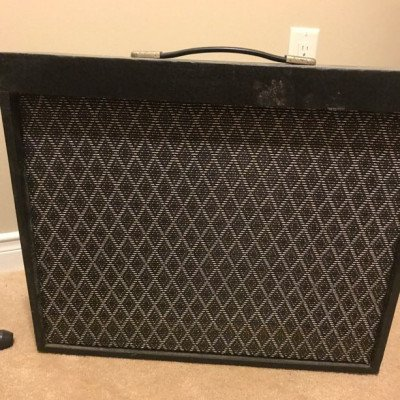 marlin electric bass guitar and tube amp-1