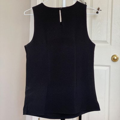 xs - black embellished cami-1