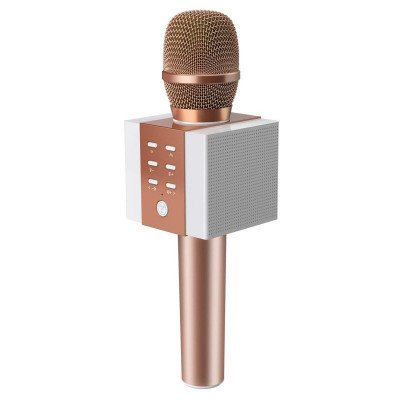 wireless bluetooth karaoke microphone picture 1