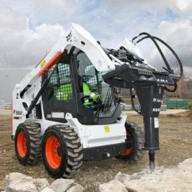 HAMMER HYD SKID STEER W/BUILT IN XCHANGE
