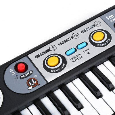 digital piano music instrument toy picture 2
