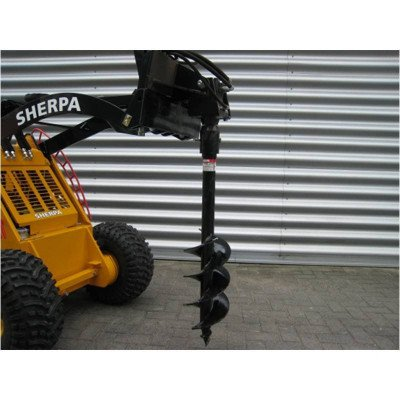 Auger Attachment for Electric Walk-Behind Skid Steer picture 1