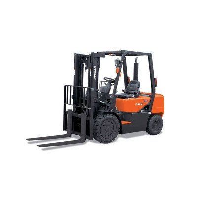 6,000lbs Semi-Pneumatic Forklift picture 1