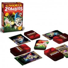 Gnomes vs. zombies - board game