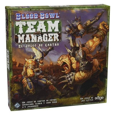blood-bowl - team manager the card game