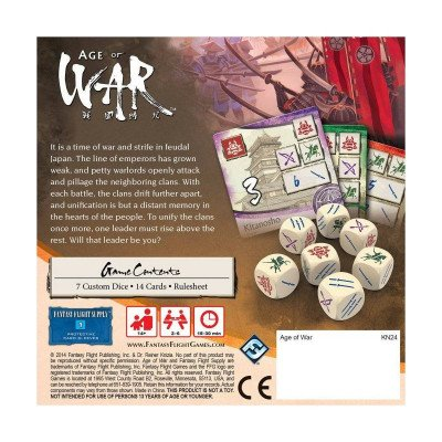age war - a game of conquest in feudal japan for 2-6 players-1
