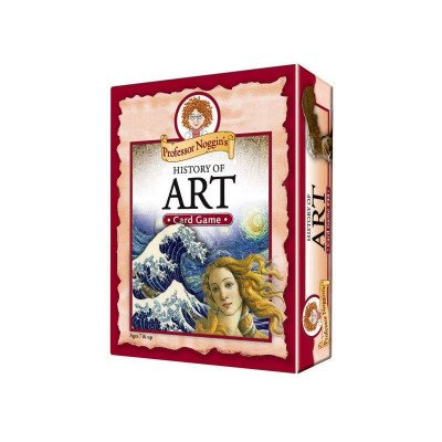 history of art card game