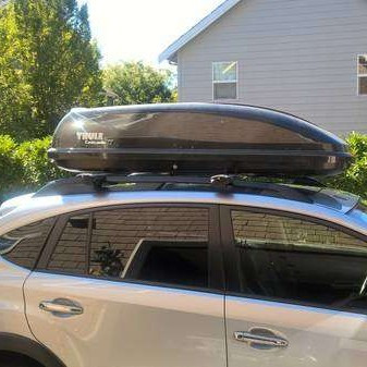 Thule cascade xt - roof box