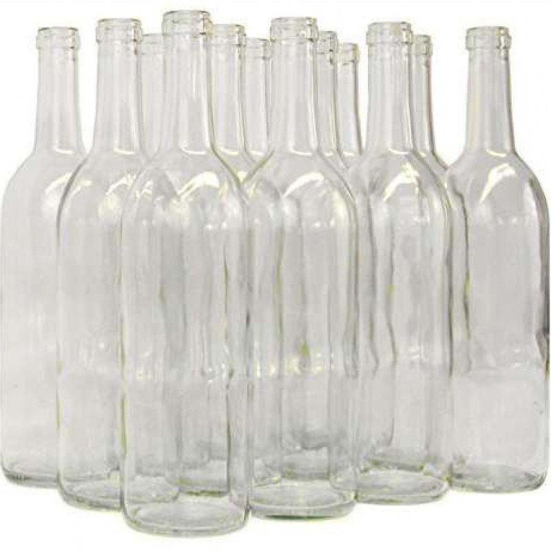 Dozen Wine bottles (empty)