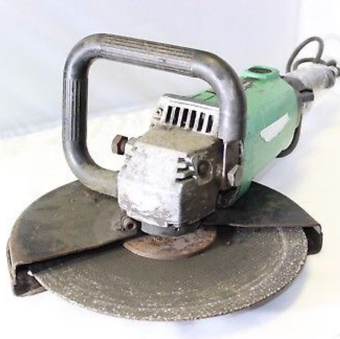"quick cut saw - hitachi 12"" - electric"