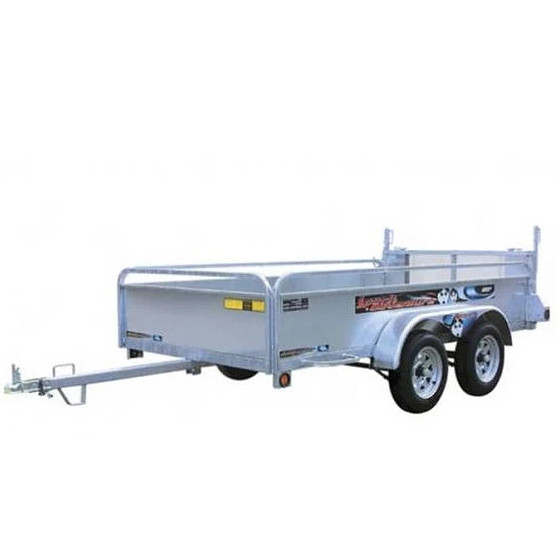 10' utility trailer with ramp