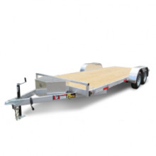 10' flatbed trailer with ramp