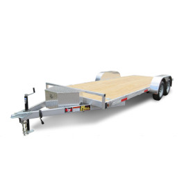 16'' flatbed trailer with ramp