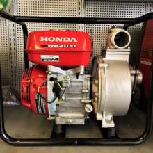 "water pump - 2"" discharge - gas powered honda"