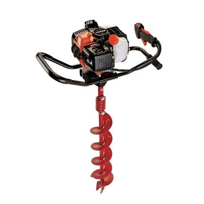 gas powered earth auger picture 1