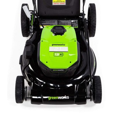 corded electric lawn mower picture 3
