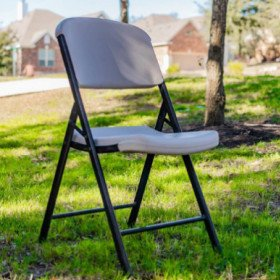 Classic White Folding Chair