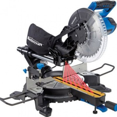 sliding compound miter saw with laser-1