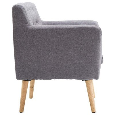 mid-century modern accent armchair picture 2