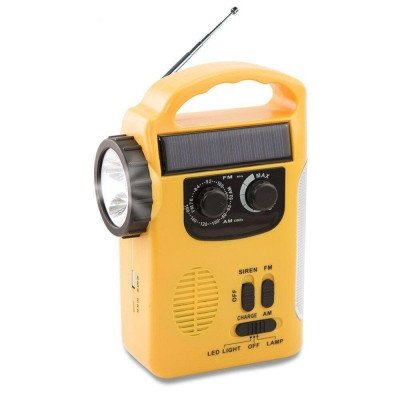 emergency weather radio camping lantern picture 2