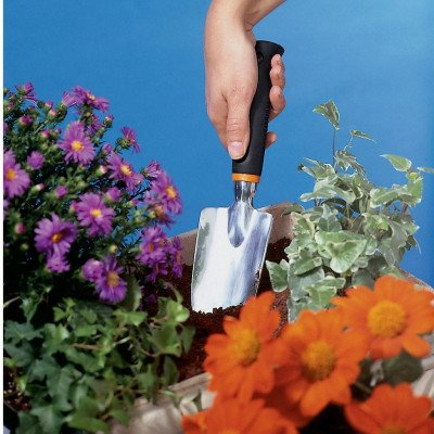 fiskars polished aluminum trowel picture 1