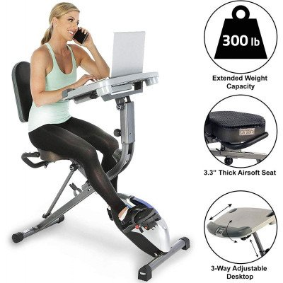 Workstation Folding Exercise Bike picture 3