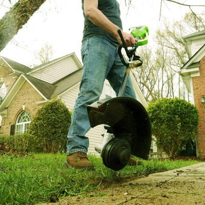 cordless string trimmer picture 1