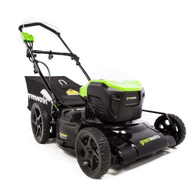 corded electric lawn mower picture 1