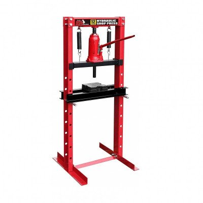 Steel Frame Hydraulic Shop Press picture 1
