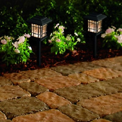 led black landscape pathway light