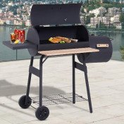 bbq grill portable backyard cooking smoker