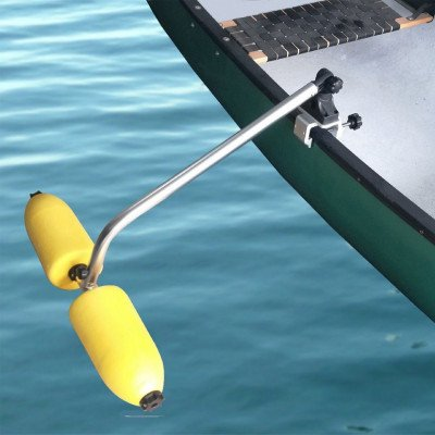 canoe stabilizers system