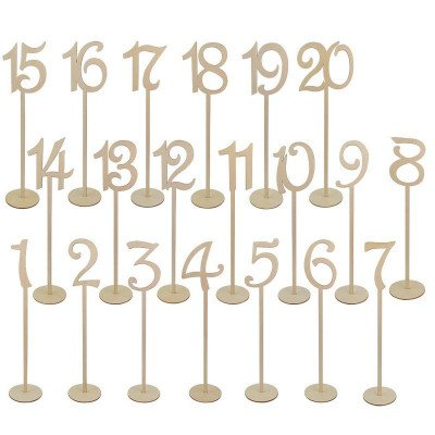 table numbers picture 1
