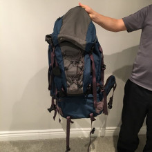 mec - hiking/travel backpack