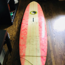 Surf board sharpe town & country hawaii