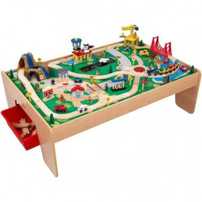 Train Set and Table picture 1